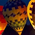 Hot Air Balloon Night Glow — Stock Photo #53186353