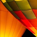 Hot Air Balloon Night Glow — Stock Photo #53999677