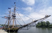 U.S. Brig Niagara Tall Ship — Stock Photo