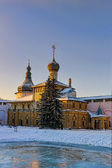 Orthodox church in the evening — Stock Photo