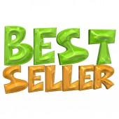 Three-dimensional inscription Best seller — Stock Photo