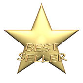 Best seller product badge. — Stock Photo