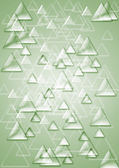 Background from set of shining triangles — Stock Photo