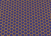 Honeycombs Structure Background — Stock Photo