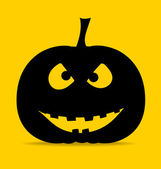 Happy halloween pozadí halloween dýně. vektor — Stock vektor
