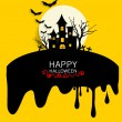 Happy Halloween design background. Vector illustration. — Stock Vector #56852943