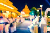 Bokeh street light Vintage background — Stock Photo