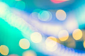 Bokeh street light Vintage background — Stock Photo