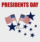 Happy Presidents Day. Presidents day banner illustration design  — Stock Vector