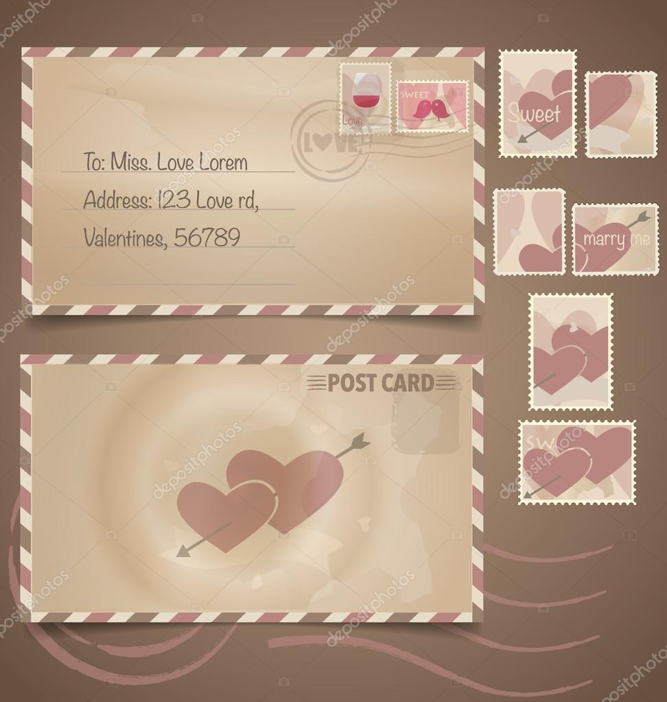 Wedding Invitation Postage Stamps for perfect invitations example