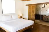 Interior of modern comfortable hotel room — Stock Photo