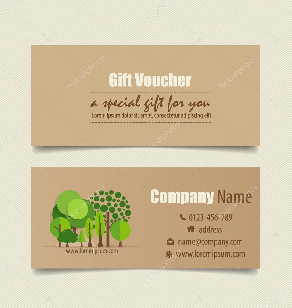 gift coupons nature background vector illustration stock gift coupons nature background vector illustration vector by jannystockphoto