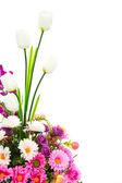 Sztuczny kwiat ozdoba — Zdjęcie stockowe