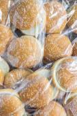 A pack of hamburger buns — Stock Photo