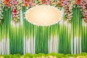 Beautiful decoration in Wedding ceremony — Stock Photo