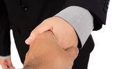 Businessman offering for handshake — Stock Photo