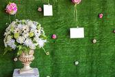 Decorations at Wedding ceremony — Stock Photo