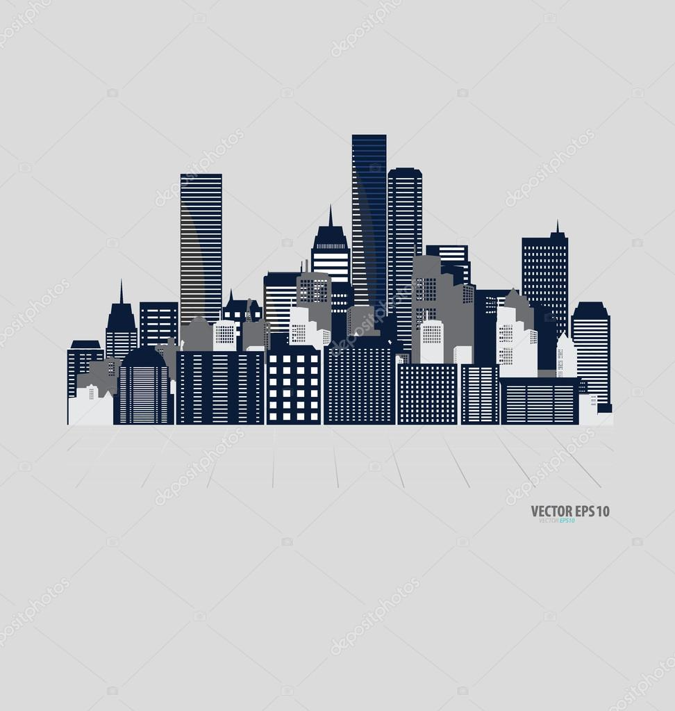 Plantilla de dise o de edificios creativos archivo for Diseno de edificios