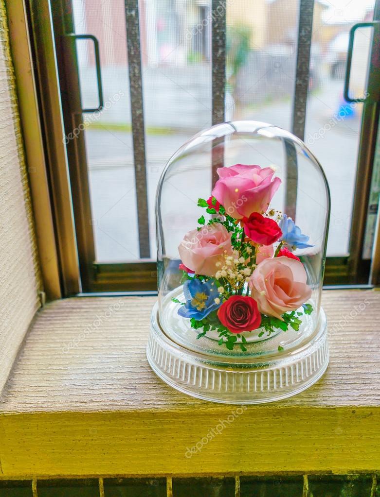künstliche blumen in glas — stockfoto © jannystockphoto #96789152, Best garten ideen
