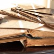 Old books, newspapers and photos. — Stock Photo #53174259