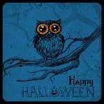 Halloween card — Stock Vector #54822903
