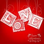 Love card — Stock Vector #62871635