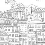 Doodle town — Stock Vector #81662244