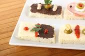 Tartine mixed — Stockfoto