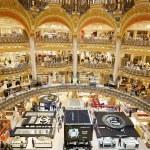 Galeries Lafayette luxury mall interior in Paris — Stock Photo #53639291