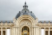 Petit Palais, Small Palace museum facade in Paris — 图库照片