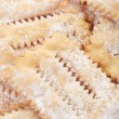 Chiacchiere, italian Carnival pastry background — Stock Photo #65076289