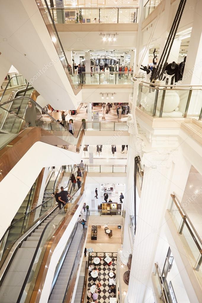 Persone interne di grandi magazzini selfridges sulle for Grandi magazzini mobili