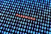 Password background — Stock Photo