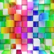 Colorful blocks abstract background — Stock Photo #77159325