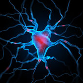 Neurons abstract background — Stock Photo