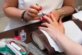 Nail painting. — Stock Photo