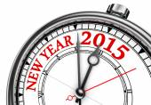 New year change 2015 concept clock — Stok fotoğraf