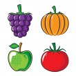 Vegetables collection. — Stock Vector #56686183