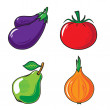 Vegetables collection. — Stock Vector #58671909