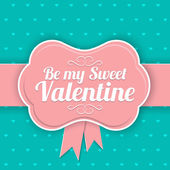 Saint Valentines  Day background. — Stock Vector