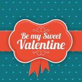 Saint Valentines  Day background. — Διανυσματικό Αρχείο