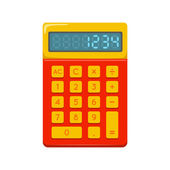 Pocket calculator. — Stock Vector