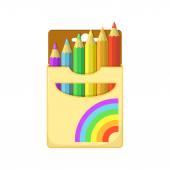 Color pencils. — Stock Vector