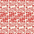 Eastern European traditional seamless pattern with berries and f — Stock Vector #57994111