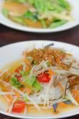 Som Tum with crab — Stock Photo