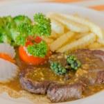 Beef steak — Stock Photo #66236385