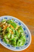 Zucchini  with egg — Stock Photo