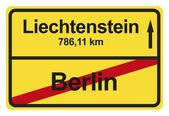 German City Limits — Stockfoto