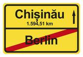 Granicach miasta niemiecki — Zdjęcie stockowe