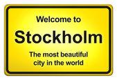 Välkommen hem — Stockfoto